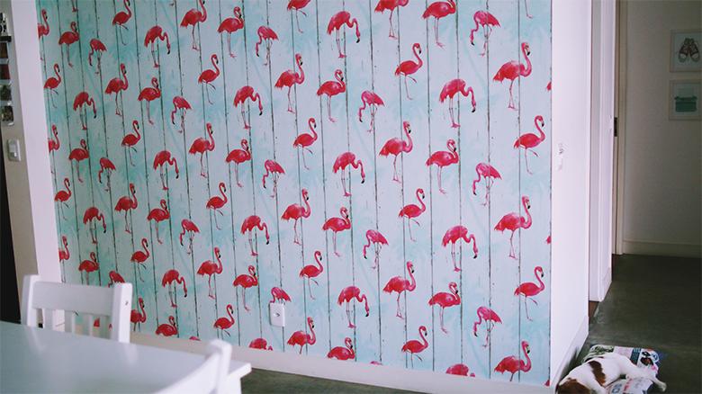 Decoração com flamingos 4