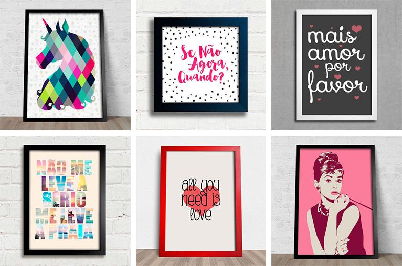 lojas online para comprar quadros e pôsteres 1