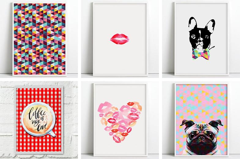 lojas online para comprar quadros e pôsteres 3