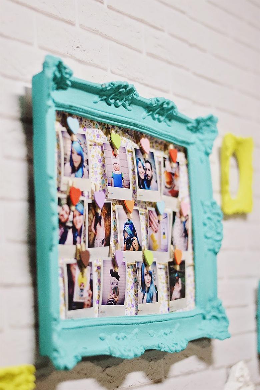 maneiras criativas de decorar a casa com fotos 3