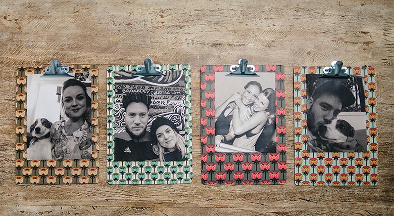 maneiras criativas de decorar a casa com fotos 4