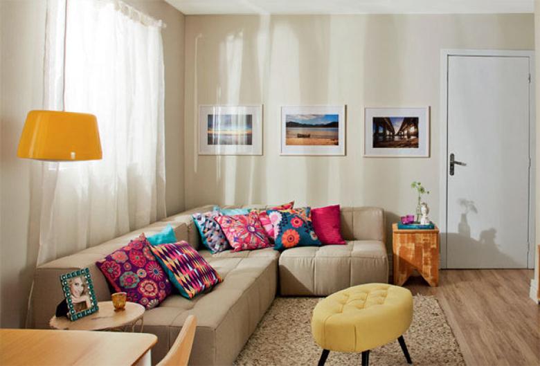 4 dicas para decorar a sala de estar gastando pouco 1