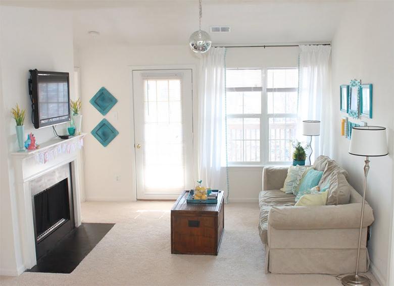 4 dicas para decorar a sala de estar gastando pouco 4