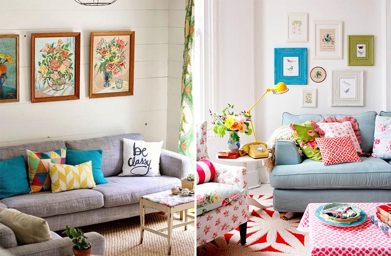 4 dicas para decorar a sala de estar gastando pouco 5
