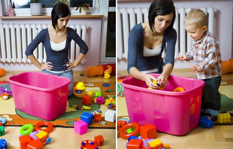 Como organizar os brinquedos dos filhos 2