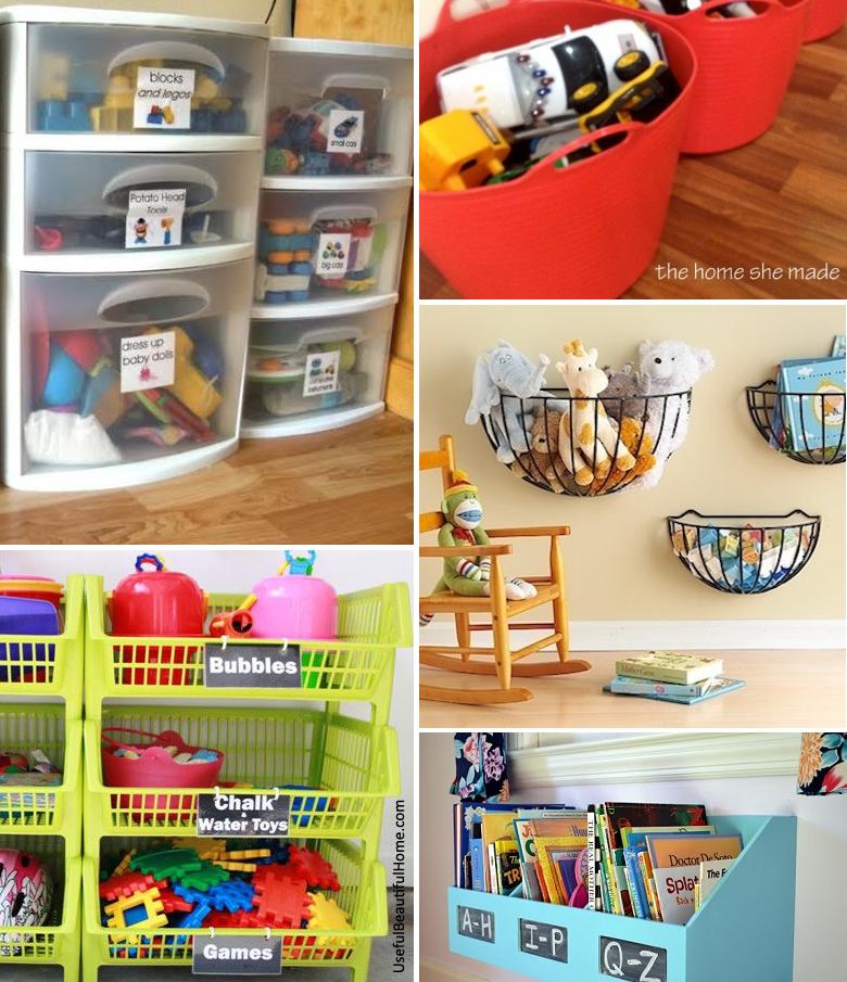Como organizar os brinquedos dos filhos 5