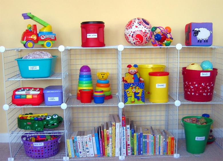 Como organizar os brinquedos dos filhos 7