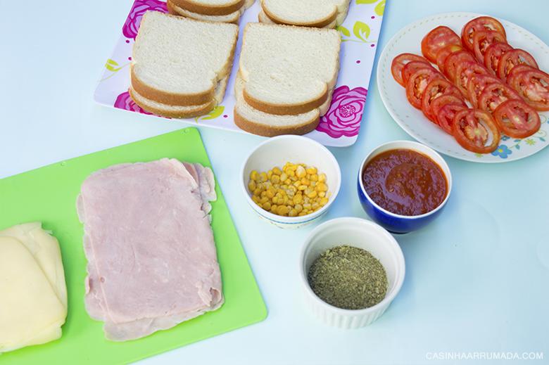 Receitas fáceis que ficam prontas em 30 minutos - Sanduíche de forno 1