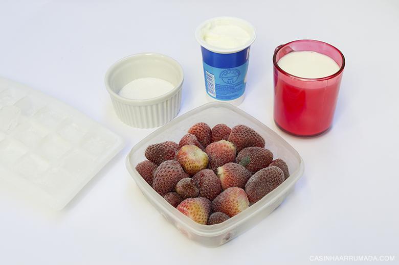 Receitas fáceis que ficam prontas em 30 minutos - Smoothie de morango 1