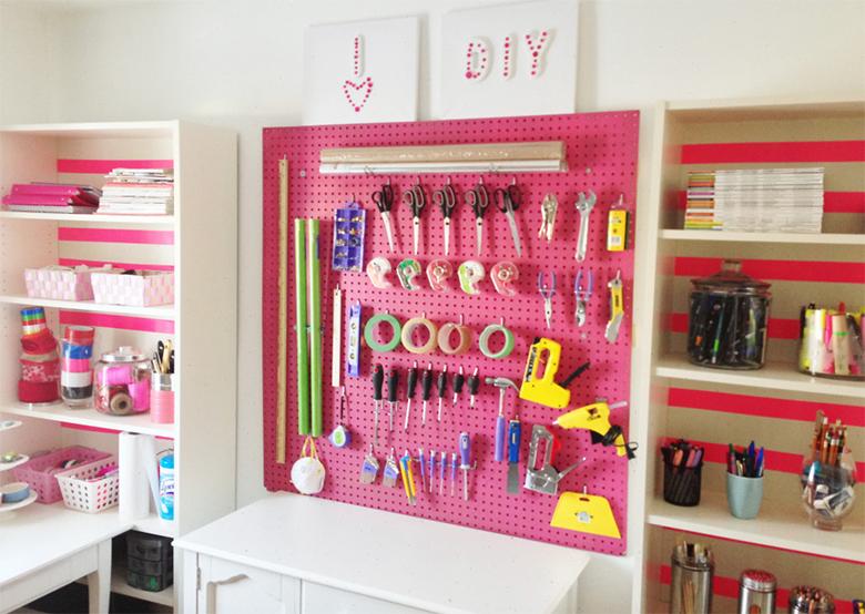 Como decorar e organizar um ateli em casa casinha arrumada for Oggetti design per casa