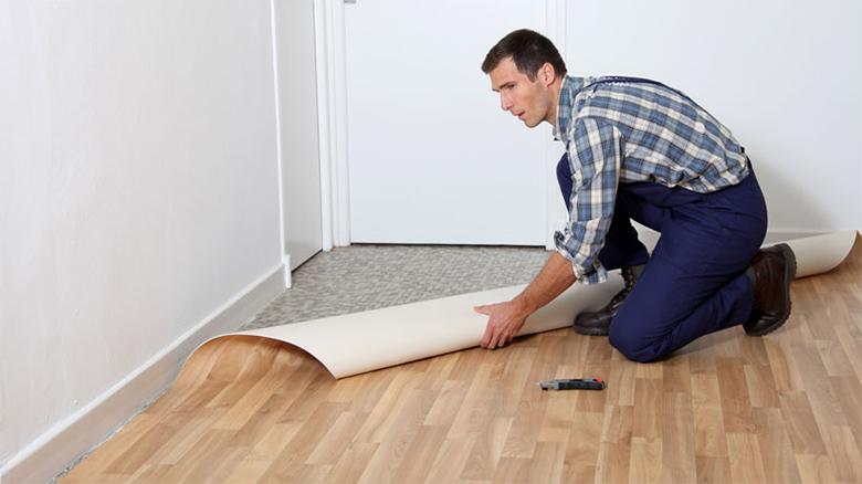 Como mudar o piso sem quebra quebra e sem remover o - Linoleo suelo precio ...