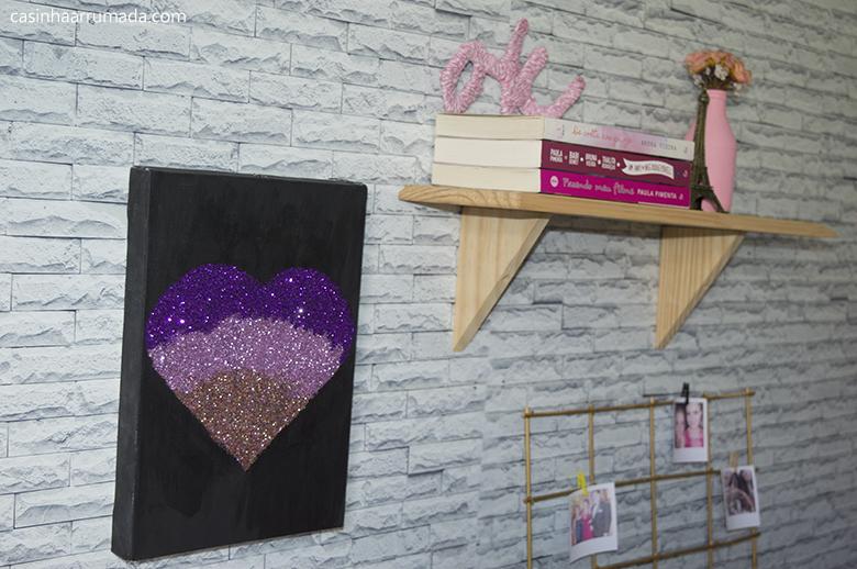 Ideias FÁCEIS e BARATAS de decoração para o quarto