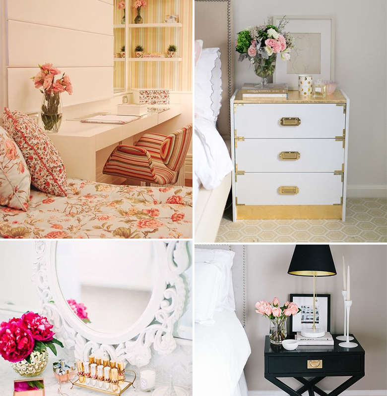 flores-na-decoracao-do-quarto