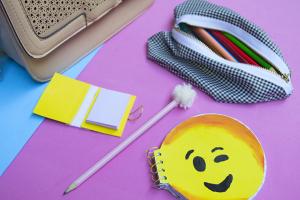 diy customização material escolar 6 volta às aulas school suplies