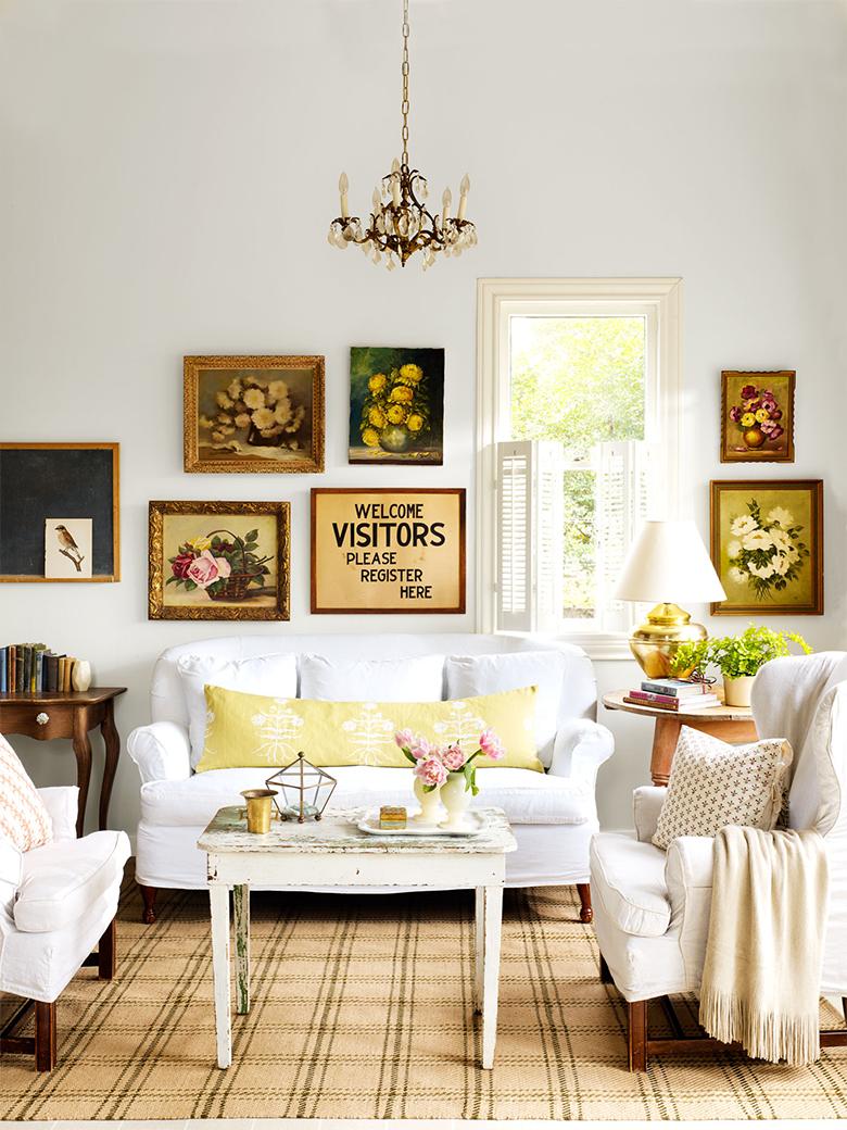 Dicas para deixar a sala de estar mais aconchegante casinha arrumada for Wall decor ideas for living room pinterest