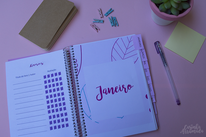 Planner 2018 para download gratuito