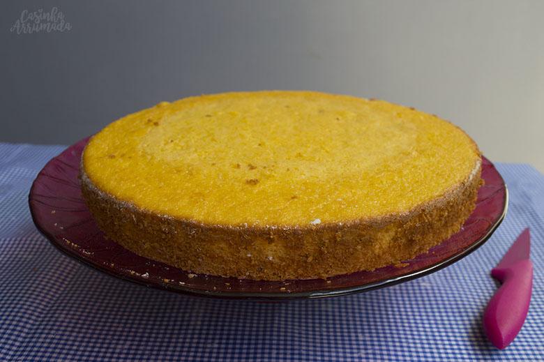 bolo de milho fácil de liquidificador