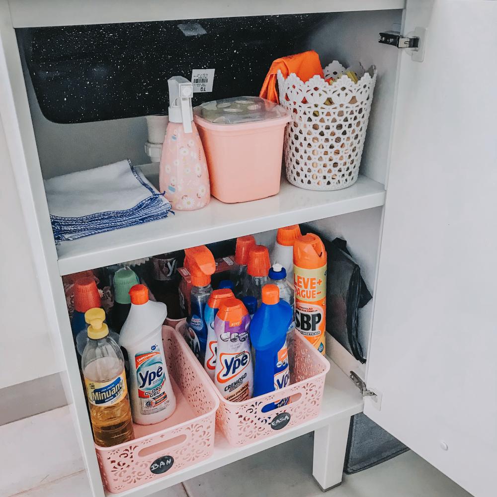 organização lavanderia pequena caixas organizadoras
